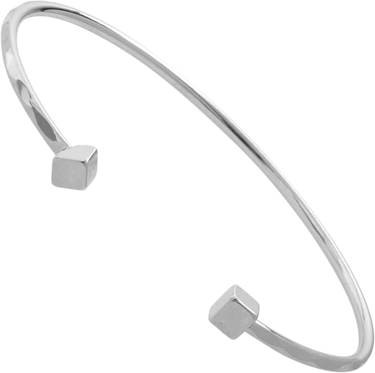 Simple Cuff Hammered Cuff Stacking Cuff Textured Cuff Adjustable Aluminum Cuff Minimalist Cuff Skinny Silver Textured Cuff