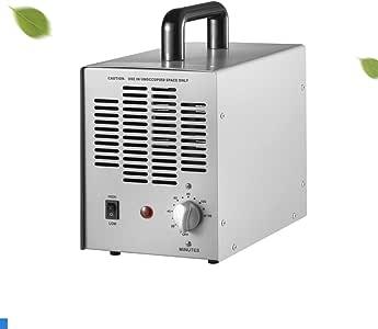 GRASSAIR Generador de ozono Comercial Purificador de Aire Profesional O3, Ozonizador Filtro para Eliminar el formaldehído y el hollín Control de detención de olores Eliminar y retardar el Moho: Amazon.es: Hogar