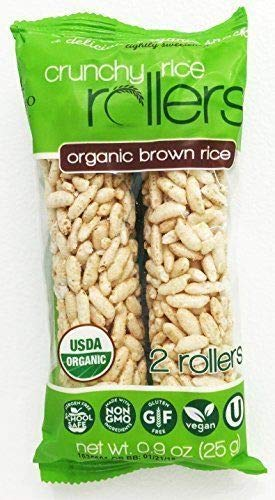 Bamboo Lane Organic Brown Rich Crunchy Rice Rollers 8-2 Packs