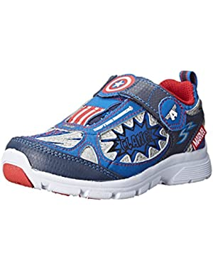 Avengers Captain America Light-up Athletic Shoe (Toddler/Little Kid)