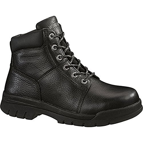 Wolverine Men's Marquette Slip Resistant 6'' Work Boot Black 13.0/M and Work Sock Bundle by Wolverine (Image #2)