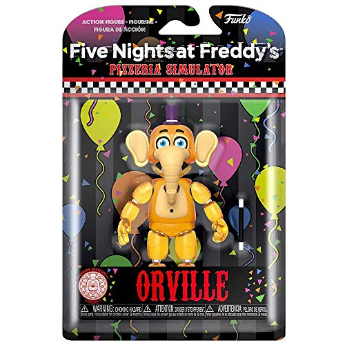 Funko Action Figures: Five Nights at Freddy's Pizza Simulator - Orville Elephant