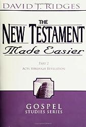 The New Testament Made Easier Part 2: Acts Through Revelation (Gospel Studies Series)