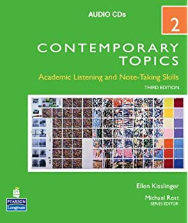 Contemporary topics 2 academic listening and note taking skills contemporary topics 2 audio cds 3rd edition fandeluxe Image collections