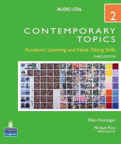 Contemporary Topics 2 Audio CDs (3rd Edition)