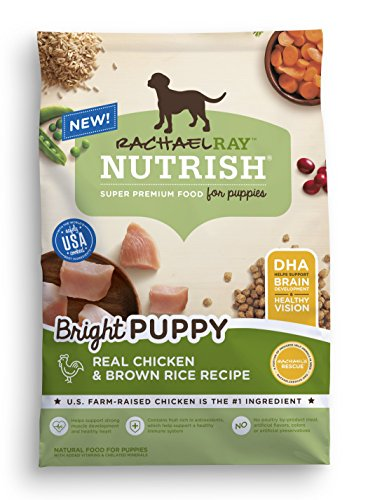 Rachael Ray Nutrish Bright Puppy Natural Dry Dog Food, Real Chicken & Brown Rice Recipe