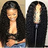 Maxine Curly Lace Front Wigs Human Hair 130%...