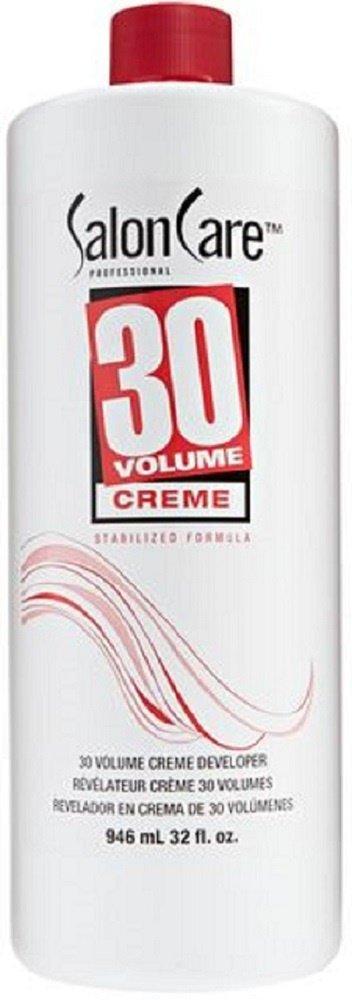 Salon Care 30 Volume Creme Developer 32 oz. by Omagazee