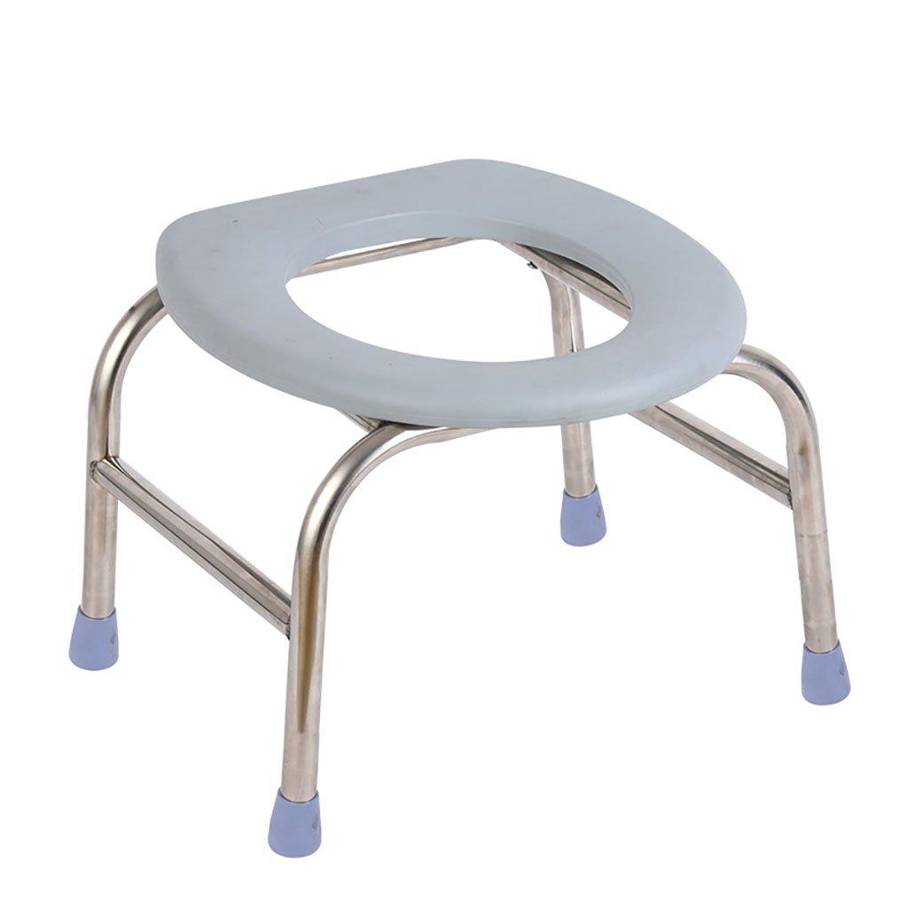 バスルームスツールステンレススチールポータブルバススツール高齢者、身体障害者トイレ便トイレシート妊婦スクワットスツール (サイズ さいず : 2) B07DV2FB7F 2  2
