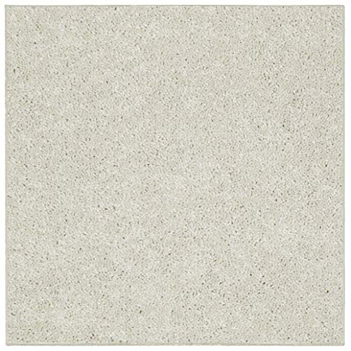 Broadway Collection Kids Favorite Off White 12' Square - Area - White Square Off Rug