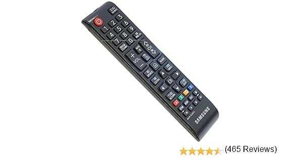 Samsung BN59-01247A - Mando a Distancia de Repuesto para TV, Color Negro: Amazon.es: Electrónica