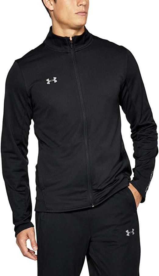 Under Armor Mens Challenger Knit Warm-Up Jacket