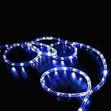 100 LEDs Solar Rope String Lights,WONFAST Waterproof...