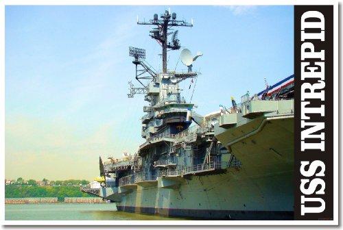 (USS Intrepid Aircraft Carrier - Poster )