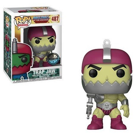 - Funko Pop! Television Masters of the Universe Trap Jaw #487