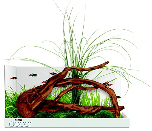 Fluval Decor Mopani Wood with 3 Moss Balls for ()