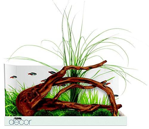 Fluval Decor Mopani Wood with 3 Moss Balls for Aquarium ()