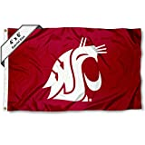 College Flags and Banners Co. Washington State WSU 4'x6′ Flag
