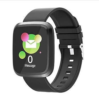 Amazon.com: ST8 - Reloj inteligente unisex Android iOS ...
