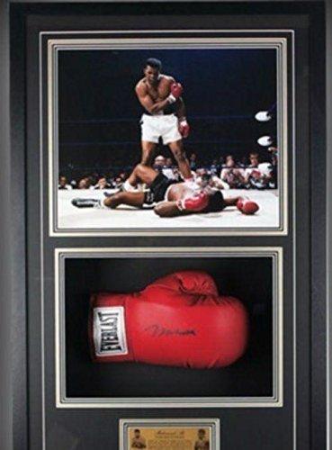 Hand Signed Muhammad Ali Large Framed Everlast Boxing Glove - Online ...
