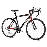 Giordano Libero 1.6 Road Bike, 700c, Black/Red,  Small/51cm Frame
