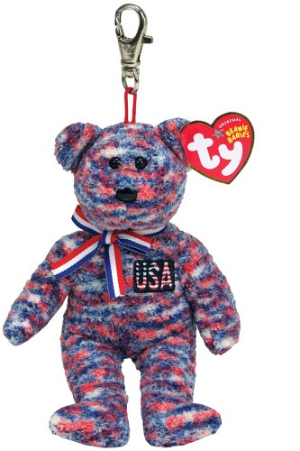Ty USA - Bear Keychain ()
