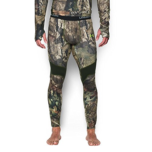 (Under Armour Men's ColdGear Armour Scent Control Leggings, Mossy Oak Break Up C/Velocity, Large)