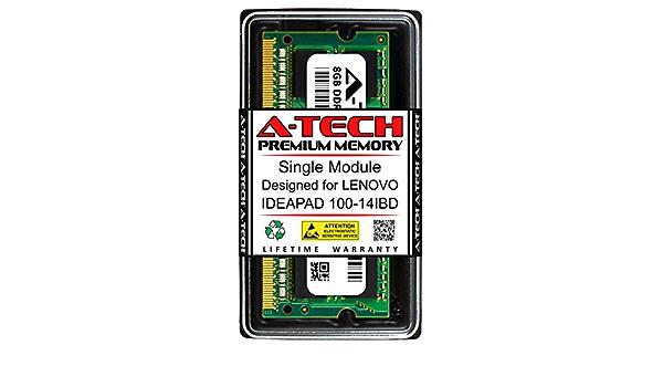 DDR3 1600MHz SODIMM PC3-12800 204-Pin Non-ECC Memory Upgrade Module A-Tech 8GB RAM for Lenovo IDEAPAD 100 100-14XXX