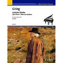 Lyric Pieces Op. 12, 38, 43