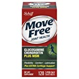 Move Free Glucosamine Chondroitin MSM and Hyaluronic Acid Joint Supplement (360 Count)