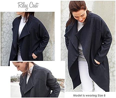 Patr/ón de costura estilo ARC - Click for Other Riley Coat tallas 04-16