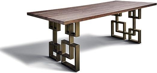 Casa Padrino Mesa de Comedor en el diseño Industrial - Roble - 200 ...