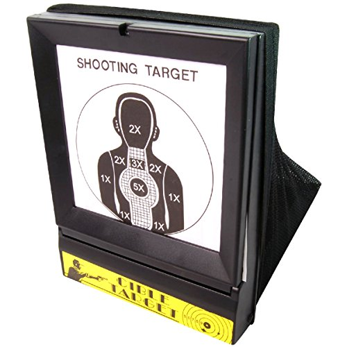 BBTac Airsoft Target with Trap Net Catcher, Stand and Paper Target, for Airsoft Gun Training Shooting BB Pellets Indoor Outdoor (Paper Targets For Bb Guns)