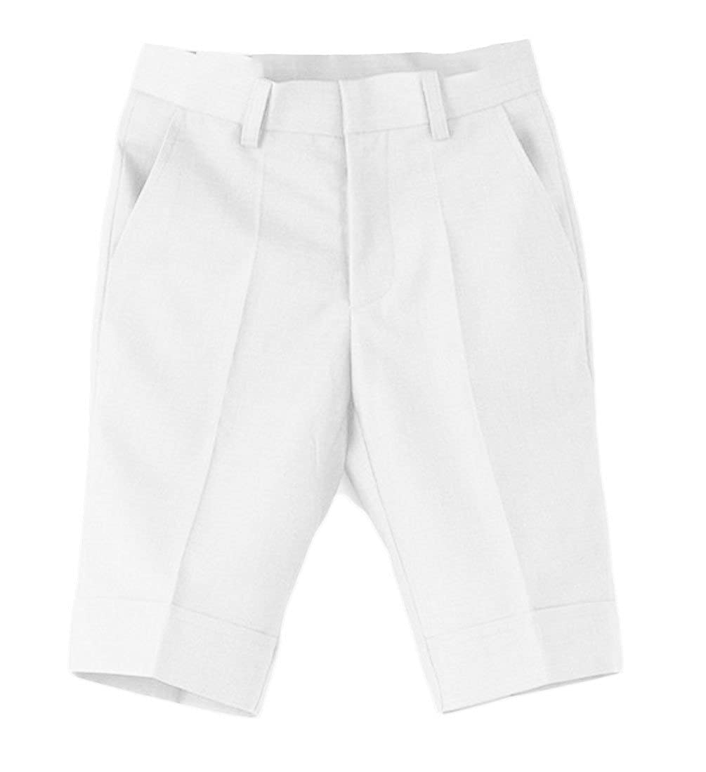 JSY Boys Classic Performance School Pure Colour Knee-Length Shorts