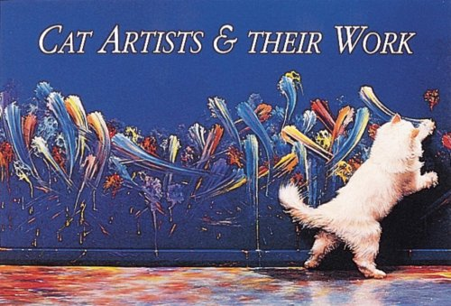 Cat Artists and Their Work Postcards