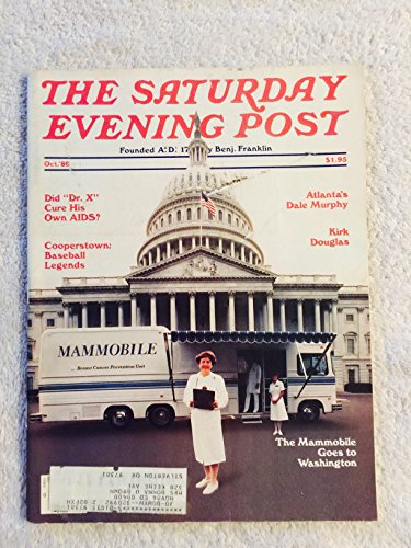 Saturday Evening Post (Mammobile , AIDS , Dale Murphy , Cooperstown , Kirk Douglas, October 1986) ()