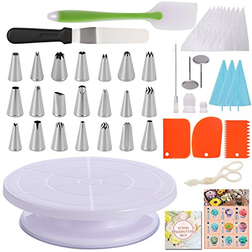 Hiware Cake Decorating Supplies Disposable
