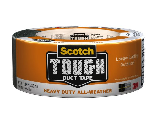 Scotch Tough Duct Tape, Heavy Duty All Weather, 1.…