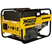 Winco WC6000HE Industrial Portable Generator, 6,000W Maximum, 297 lb.