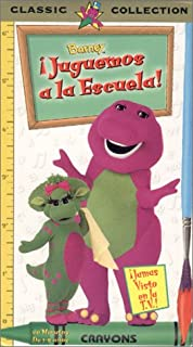 product image for Barney Let's Play School (Spanish Edition) [VHS]