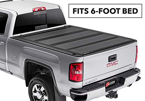 BAKFlip MX4  Hard Folding Truck Bed Tonneau Cover   448125   fits 2015-19 GM Colorado, Canyon 6' bed