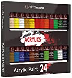 glass acrylic paint - Acrylic Craft Paint - 24 Pack