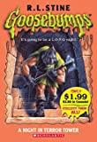 A Night in Terror Tower (Goosebumps (Pb Unnumbered))