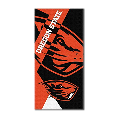 The Northwest Company Officially Licensed NCAA Oregon State Beavers Puzzle Beach Towel, 34