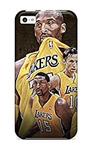 Snap-on Los Angeles Lakers Nba Basketball (43) Case Cover Skin Compatible With Iphone 5c
