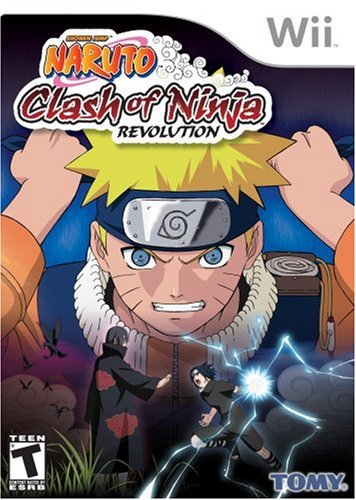 Naruto: Clash of Ninja Revolution - Nintendo - Naruto Collection Game