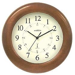 ATOMIX 542-12 Cherry Finish Atomic Clock