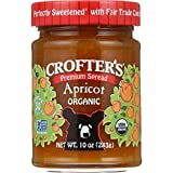Crofters Organic Apricot Premium Spread, (Pack of 6)