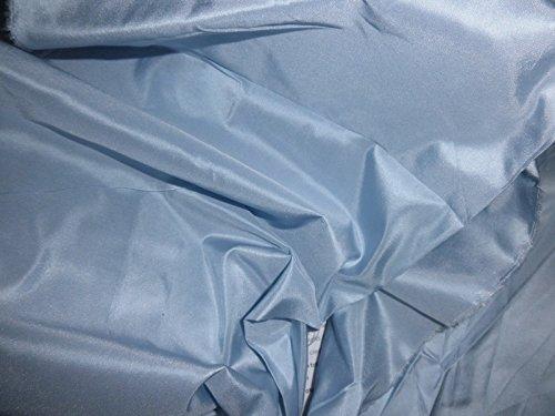 (Puresilks Pure Silk Taffeta Fabric ~Baby Blue - Hobbies,Home Decor,Sewing,Fashion,Doll Dress,Furnishing,Interior. )