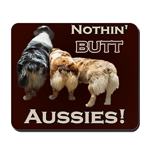 CafePress - Aussie Mousepad - Non-slip Rubber Mousepad, Gaming Mouse Pad